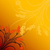 Abstract flower gradient Royalty Free Stock Photo