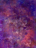 Abstract flower grunge background. Stock Image