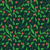 Abstract flower heart deep blue Stock Photo