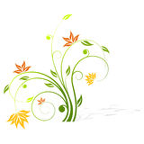 Abstract flower icon Royalty Free Stock Image