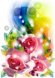 Abstract flower illustration Stock Photo
