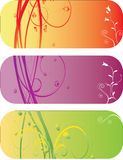 Abstract flower Illustration flower spring autumn Royalty Free Stock Photo