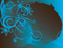 Free Abstract Flower Illustration Flower Spring Blue Stock Photography - 17545142