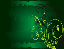 Free Abstract Flower Illustration Flower Spring Green Royalty Free Stock Images - 17545229