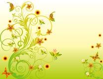 Abstract flower Illustration flower spring summer royalty free illustration