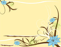 Abstract flower Illustration flower spring summer Stock Photography
