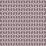Abstract flower on linear rounded rectangles , vector pattern. vector illustration