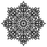 Abstract Flower Mandala. Decorative element for. Design. Vector illustration Royalty Free Stock Photos