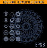 Abstract flower pack Stock Photography