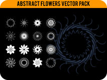 Abstract flower pack Royalty Free Stock Photography