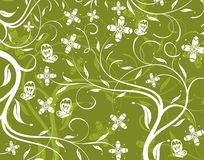 Abstract flower pattern Royalty Free Stock Images