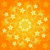 Abstract flower pattern Royalty Free Stock Photography