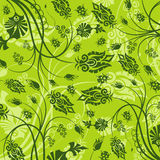 Abstract flower pattern Stock Images
