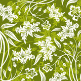 Abstract flower pattern Stock Photography