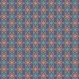 Abstract flower pattern wallpaper. Vector illustration. Seamless background. Royalty Free Stock Photos
