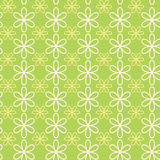 Abstract flower pattern wallpaper. Vector illustration. Seamless background. Royalty Free Stock Photography