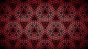 Abstract flower red color pattern wallpaper Royalty Free Stock Photography