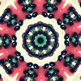 Abstract flower red green purple and white color wallpaper Royalty Free Stock Photography