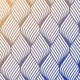 Abstract flower ripple pattern. Repeating vector texture. Wavy graphic background. Simple geometric waves. Graphic clean design for fabric, event, wallpaper etc Stock Photography