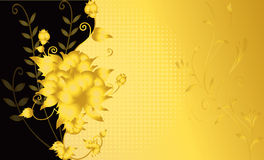 Abstract flower rose wedding illustration  Royalty Free Stock Photos