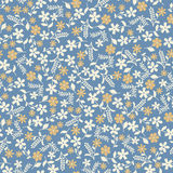 Abstract flower seamless background pattern Royalty Free Stock Images