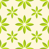 Abstract flower seamless pattern. Stock Image