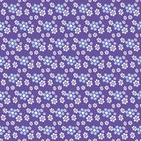 Abstract flower seamless pattern Stock Photography