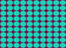 Abstract flower shape seamless pattern background Stock Image