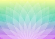 Abstract flower-shaped ornament royalty free stock photography