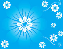 Abstract Flower Spring Illustration Royalty Free Stock Photo