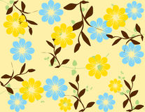 Abstract flower spring illustration  Royalty Free Stock Images