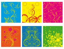 Abstract flower spring illustration vector Royalty Free Stock Photos