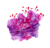Abstract flower texture royalty free illustration
