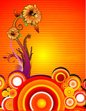 Abstract flower vector Stock Image