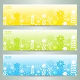 Abstract Flower Vector Background / Brochure Template / Banner. Eps 10 vector illustration