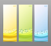 Abstract Flower Vector Background / Brochure Template / Banner. vector illustration