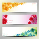 Abstract Flower Vector Background Stock Image