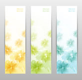 Abstract Flower Vector Background Royalty Free Stock Images