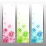 Abstract Flower Vector Background / Brochure Template / Banner. Stock Photo