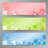Abstract Flower Vector Background / Brochure Template / Banner. Stock Photos