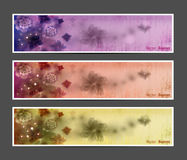 Abstract Flower Vector Background / Brochure Template / Banner. Royalty Free Stock Photography
