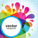 Abstract flower. Vector illustration Stock Image