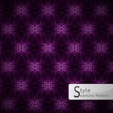 Abstract flower violet lattice sparkling diamond vintage  Stock Photography