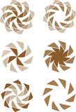 Abstract flowers Royalty Free Stock Images