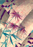 Abstract flowers Royalty Free Stock Image