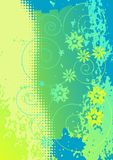 Abstract flowers - 2d vector Stock Photos