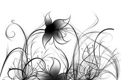 Abstract Flowers And Plants Stock Images