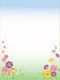 Abstract flowers background. Beautiful abstract flowers background with place for your text Royalty Free Stock Images