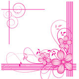 Abstract flowers background Royalty Free Stock Photo