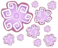 Abstract Flowers Background 2 Stock Photo